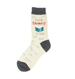 Foot Traffic Foot Traffic - Talk Dewey To Me - 6917- Crew - Women's