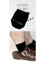 Foot Traffic Foot Traffic - Cotton Half Sock 2Pk - AL-16 - Unisex