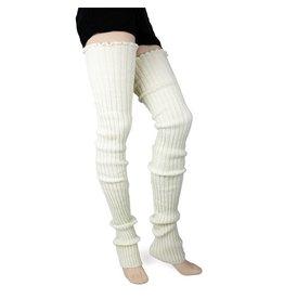 Foot Traffic Foot Traffic - Super Long Leg Warmers - LW120 - Ivory