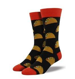 f8256c3726f8b Socksmith Socksmith - King Size - Tacos - Black - K-MNC801 - Crew -