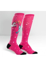 Sock It to Me Sock It to Me - Unicorn vs. Narwhal - F0272 - Knee High - Women's