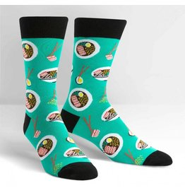 Sock It to Me Sock It to Me - Ra-Man! - MEF0230 - Crew - Men's