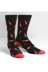 Sock It to Me Sock It To Me - Hot Sauce - MEF0247 - Crew - Men's