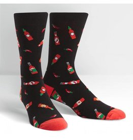 Sock It to Me Sock It To Me - Hot Sauce - MEF0247 - Crew - Men's