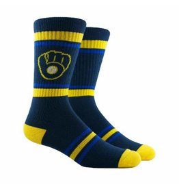 PKWY PKWY - Milwaukee Brewers - Stripe - Crew - Unisex