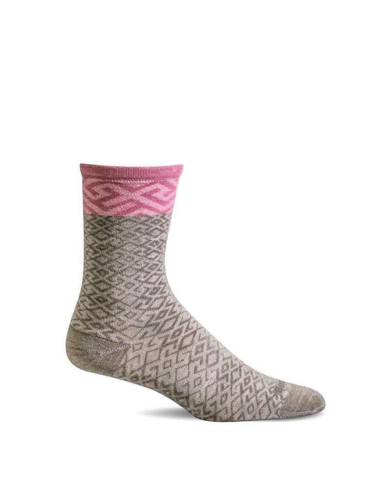 Sockwell Sockwell - Essential Comfort - Mosaic - LD153W - Khaki - Women's