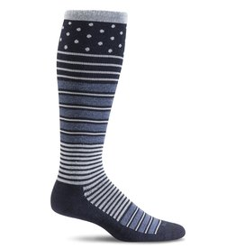 Sockwell Sockwell - Firm Lifestyle Compression - Twister - SW29W - Navy - Women's