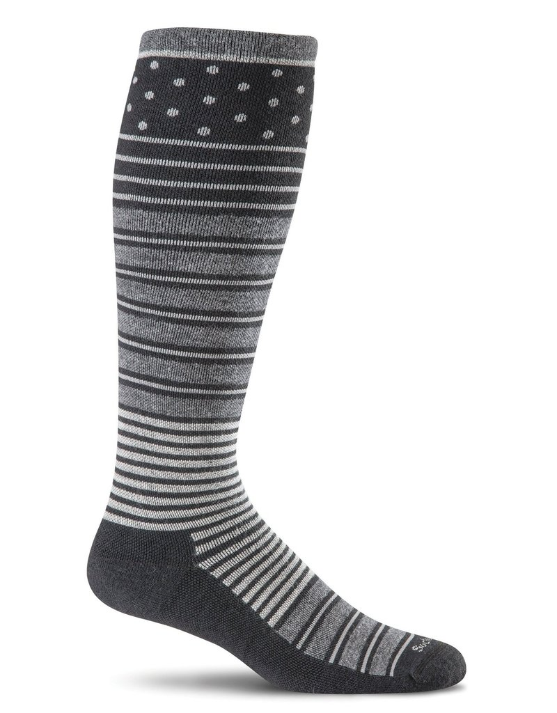 Sockwell Sockwell - Firm Lifestyle Compression - Twister - SW29W - Black - Women's