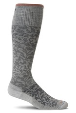 Sockwell Sockwell - Moderate Lifestyle Compression - Damask - SW16W - Oyster - Women's