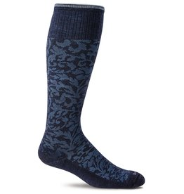 Sockwell Sockwell - Moderate Lifestyle Compression - Damask - SW16W - Navy - Women's