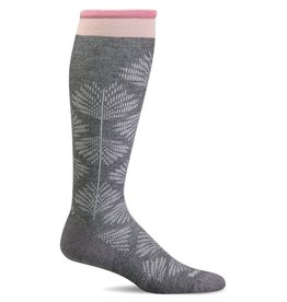 Sockwell Sockwell - Moderate Lifestyle Compression - Full Floral - SW63W - Charcoal - Women's