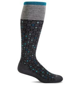 Sockwell Sockwell - Moderate Lifestyle Compression - Kinetic - SW58W - Charcoal - Women's