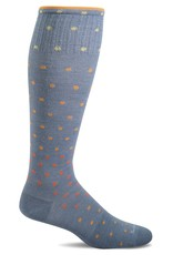 Sockwell Sockwell - Moderate Lifestyle Compression - On The Spot - SW3W - Bluestone - Women's