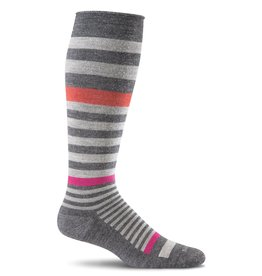 Sockwell Sockwell - Moderate Lifestyle Compression - Orbital - SW28W - Charcoal - Women's