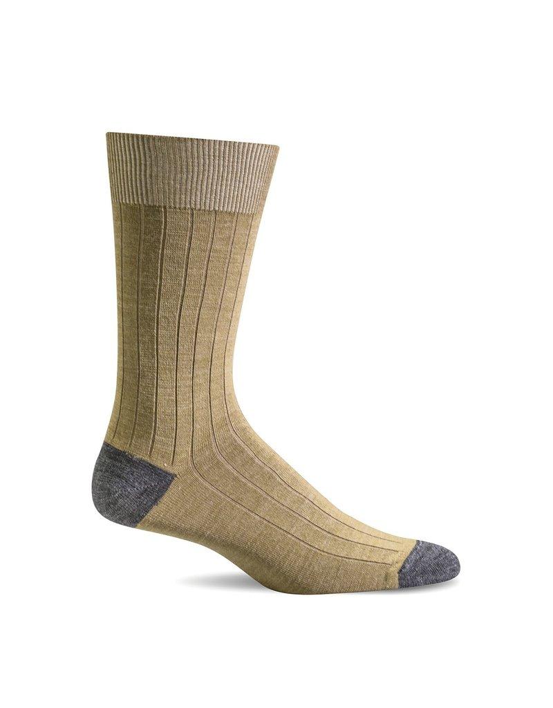 Sockwell Sockwell - Essential Comfort - Chelsea Rib - LC13M - Wheat - Men's