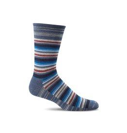 Sockwell Sockwell - Essential Comfort - Fiesta Stripe - LD19M - Denim - Men's