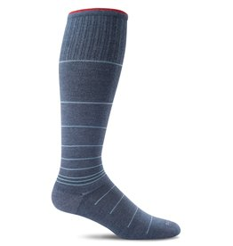 Sockwell Sockwell - Moderate Lifestyle Compression - Circulator - SW1M - Denim - Men's