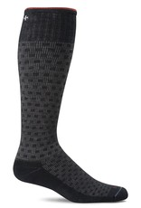 Sockwell Sockwell - Moderate Lifestyle Compression - Shadow Box - SW16M - Black - Men's