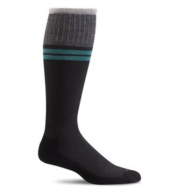 Sockwell Sockwell - Moderate Lifestyle Compression - Sportster - SW19M - Black 2 - Men's