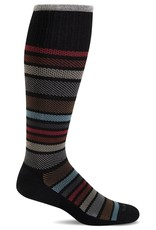 Sockwell Sockwell - Moderate Lifestyle Compression - Twillful - SW27M - Black - Men's