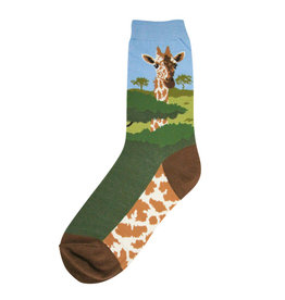 Foot Traffic Foot Traffic - Giraffe - 7005 - Crew - Women's