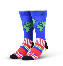 Odd Sox Odd Sox - World Traveler - Crew - Unisex