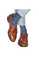 Dapper Classics Dapper Classics - Indigo Blue with Gray and Ceramic Mini - Cotton - OTC