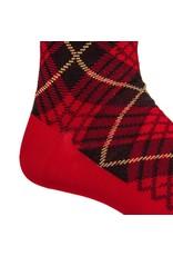 Dapper Classics Dapper Classics - Red with Black and Yellow Tartan - Cotton - OTC