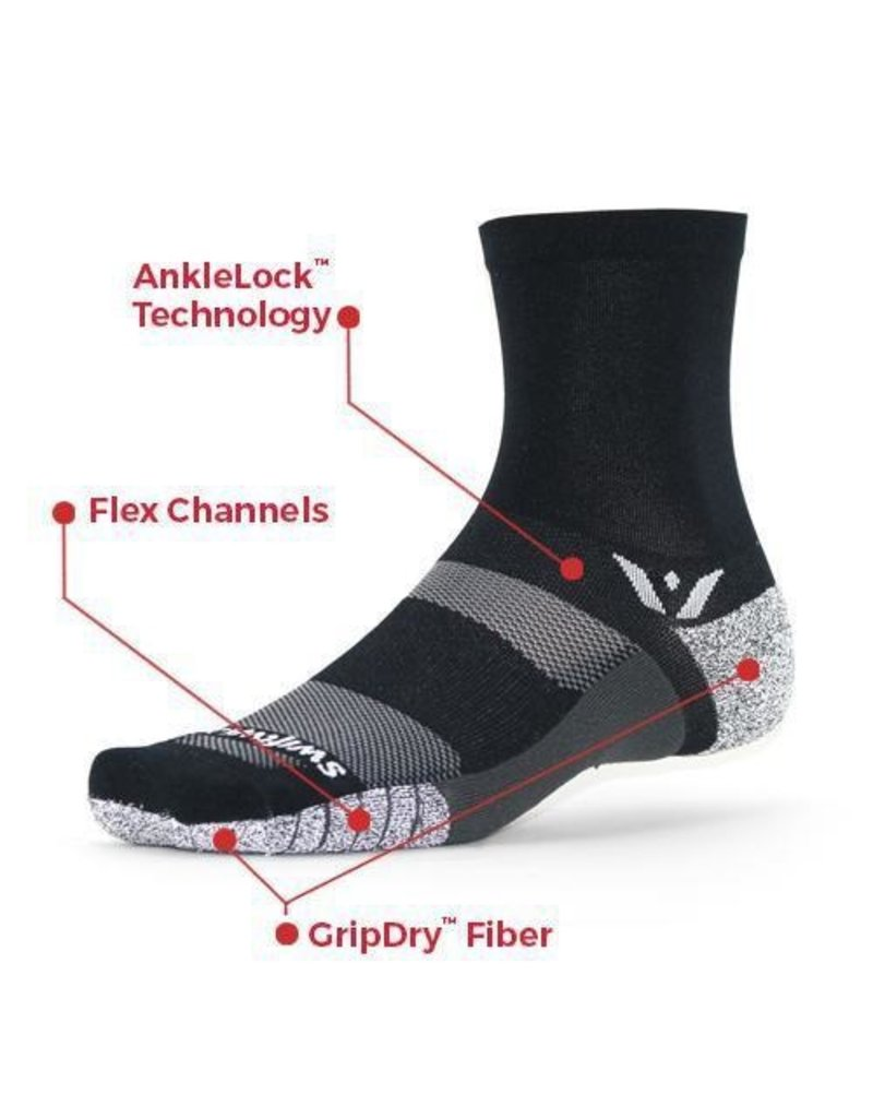 Swiftwick Swiftwick - Flite XT - FIVE - Black