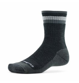 Swiftwick Swiftwick - Pursuit Hike - SIX - Medium Cushion - Coal/Gray