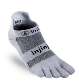 Injinji Injinji - Performance 2.0 Run - Lightweight No-Show - Grey