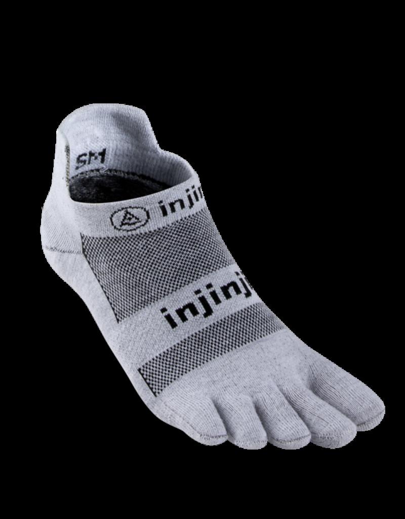 Injinji Injinji - Performance 2.0 Run - Lightweight No-Show - Grey