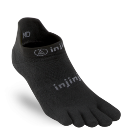 Injinji Injinji - Run - Original Weight No-Show - Black