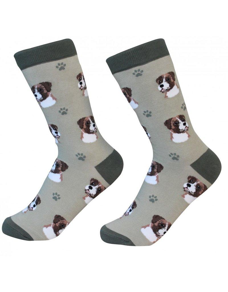 Sock Daddy - Boxer - Sage - Crew - Unisex