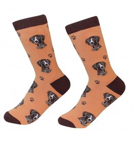 Sock Daddy - German Shorthaired Pointer - Burnt Orange - Crew - Unisex