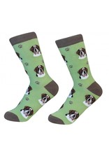 Sock Daddy - Saint Bernard - Lawn - Crew - Unisex