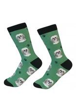 Sock Daddy - Shih Tzu - Green - Crew - Unisex
