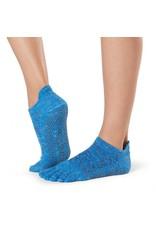 ToeSox ToeSox - Low Rise - Full Toe Grip - Lapis