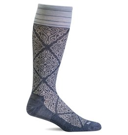 Sockwell Sockwell - Firm Lifestyle Compression - The Raj - SW70W - Denim - Women's