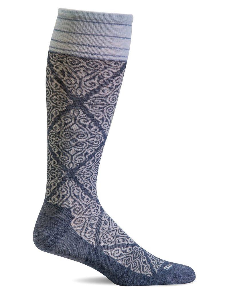 Sockwell Sockwell - Firm Lifestyle Compression - The Raj - SW70W - Denim - Women's