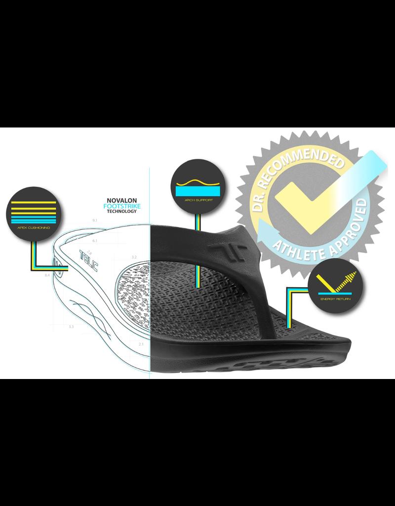 Telic USA Telic - Flip Flop - Unisex - Midnight Black