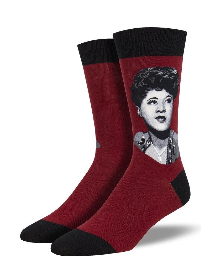 Socksmith Socksmith - Ella Portrait - Red - MNC1930 - Crew - Men's