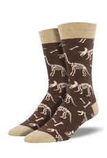 Socksmith Socksmith - Can You Dig It? - Brown Heather - MNC1631- Crew - Men's