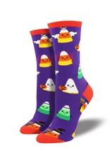 Socksmith Socksmith - Corny Costumes - Purple - WNC1606 - Crew - Women's