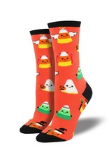 Socksmith Socksmith - Corny Costumes - Orange - WNC1606 - Crew - Women's