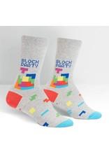 Sock It to Me Sock It to Me - Tetris Block Party - W0241 - Crew - Women's