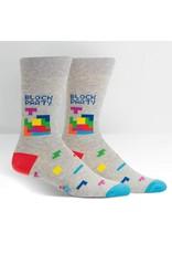 Sock It to Me Sock It To Me - Tetris Block Party - MEF0415 - Crew - Men's