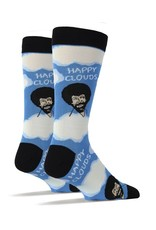 Oooh Yeah! Oooh Yeah - Bob Ross - Happy Clouds - Men's