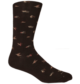 Brown Dog Hosiery Brown Dog Hosiery - Maggie Valley - Black - Men's - OSFM