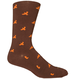Brown Dog Hosiery Brown Dog Hosiery - Miles Ridge - Brown - Men's - OSFM